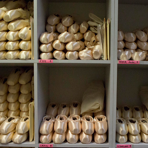 The Pointe Shoe Room