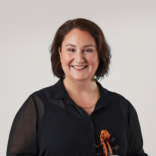 Monica Naselow, Principal 2nd Violin