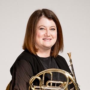 Linda Hewett, Principal Third Horn
