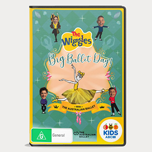 The Wiggles' Big Ballet Day! DVD - $20